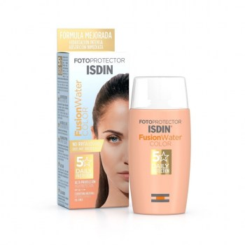 FOTOPROTECTOR ISDIN SPF 50 FUSION WATER COLOR 50 ml
